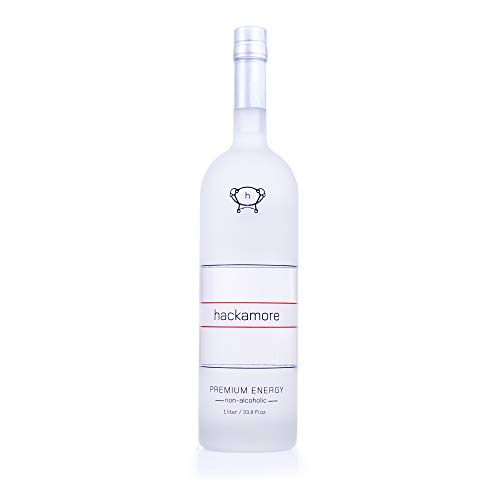 Hackamore The Premium Energy Shot Non-Alcoholic, 33.8 fl oz (1 Glass - Alcohol Vodka Non