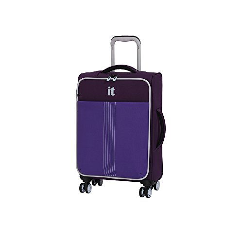 it luggage Filament 21.5 Lightweight Expandable Carry-On Spinner Sky Purple