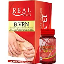 Real Elixir 13-vrn 30 Tablets Slimming Lose Weight the Old Fat Accumulation. Inhibit the Absorption and Prevent New Fat.