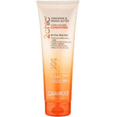 Giovanni Hair Care Products 2chic Conditioner Ultra-Volume Tangerine and Papaya Butter, 1.5 Fluid Ounce