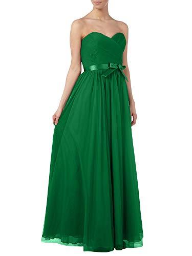 Lang A Brautjungfernkleider Braut Marie La Einfach Elegant Abendkleider Linie Grün Herzausschnitt Grau Partykleider zvgqRw
