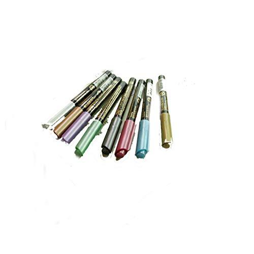 Ivory Silver Pens - Watercolor Brush Pens Metallic Soft FUDEBIYORI Copper Silver Gold Japan