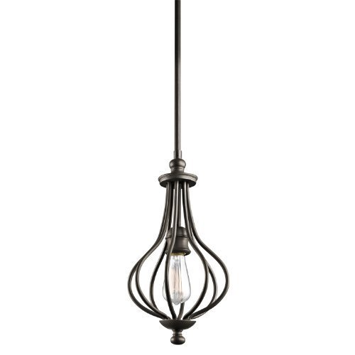 Kichler 43333OZ, Kensington, 1LT Incandescent, Olde Bronze by Kichler Lighting