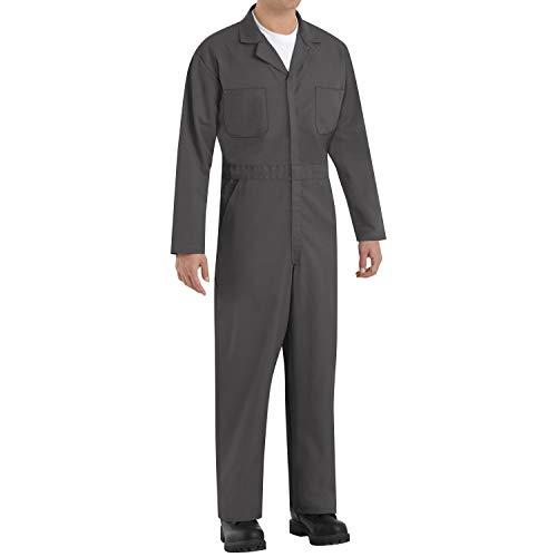 Red Kap Men's Long Sleeve Twill Action Back Coverall