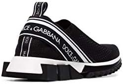 Luxury Fashion | Dolce E Gabbana Femme CK1595AZ5688B956 Noir Chaussures De Skate | Automne_Hiver