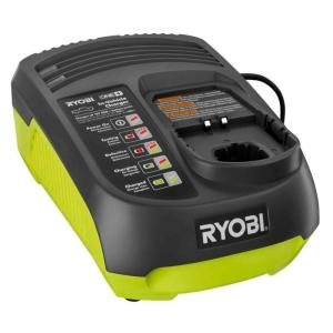 Ryobi P131 One+ Portable Dual Chemistry Lithium Ion or NiCad Vehicle Charger (Ryobi P108 Charger)