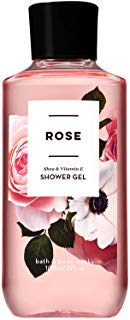 Bath and Body Works ROSE Shea and Vitamin E Shower Gel 10 Fluid ()