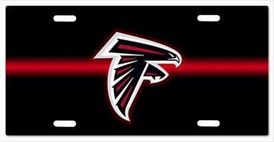 Atlanta Falcons Metal (Atlanta Falcons- The Run v04 Vanity License Plate)