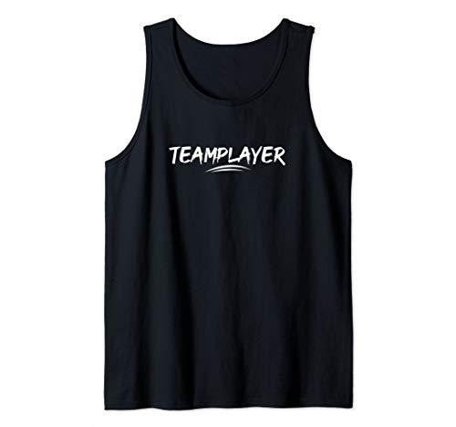 Cool Teamplayer Tee   Gamer MMO Player Geek Nerd Pro Gaming Tank Top