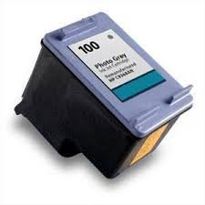 Speedy Inks - Remanufactured Replacement for HP 100 C9368AN Photo Gray Ink Cartridge