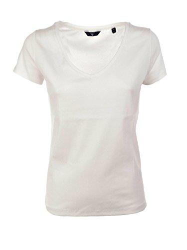 Tee Pocket Salt Maglia Woolrich White Donna W's 6T1xtq0In