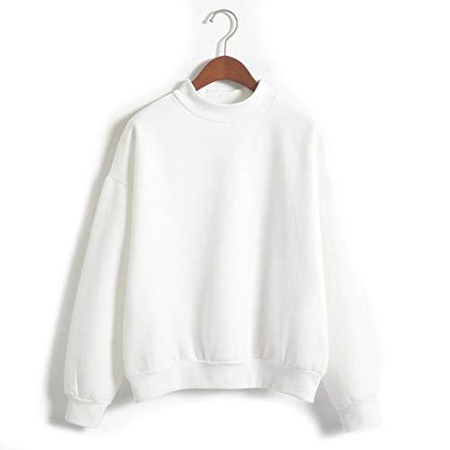 durable modeling QRYCN Damen Sweatshirt Frauen Langarm