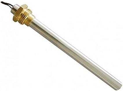 Easyricambi Resistencia bujía Encendido para Estufa de pellets 250 W 150 mm 140 mm; diámetro 9,9 mm; Rosca 3/8; para Laminox - Palazzetti - Puros - Rika