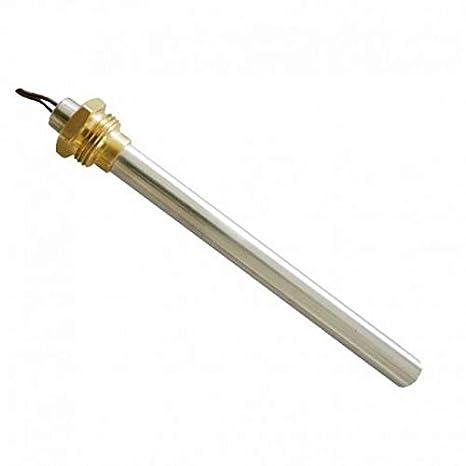 Resistencia Bujía Encendido para estufa de pellets 300 W 180 mm 170 mm; Diámetro 9,9 mm; Rosca 3/8. Para LAMINOX: Amazon.es: Hogar