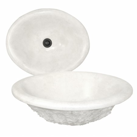 (American Bath Factory S2-3030-NT Madrid Drop-in Bowl in Natural)