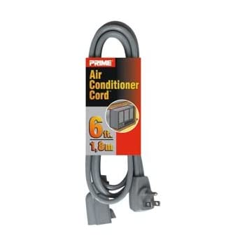 com foot long extension cord male to female p  gadko 6ft 14 3 air conditioner major appliance cord