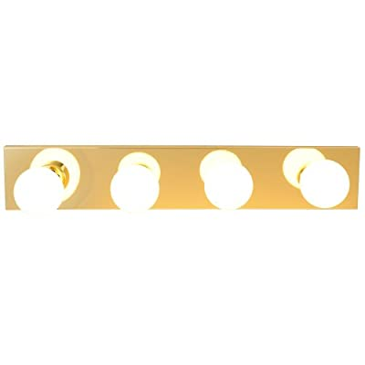 Royal Cove 671611 Vanity Lighting Strip, Polished Brass, 24 In.