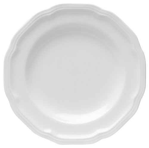 Mikasa Antique White Bread and Butter Plate, 7-Inch]()