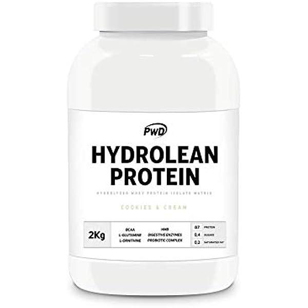 Hydrolean Protein 2Kg. (Cookies & Cream): Amazon.es: Salud ...
