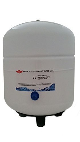 Charman Manufacturing 400025 4.0-Gallon Reverse Osmosis RO Water Storage Tank With 3.2 Gallon Holding Capacity