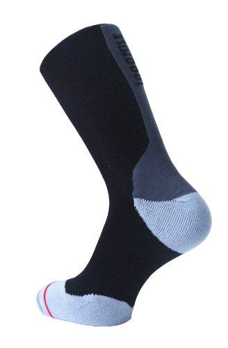 Mile Hombre Negro 1000 Calcetines gris Fusion ZF8FxUHwq