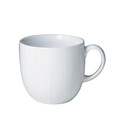 Denby White Mug, Set of 4