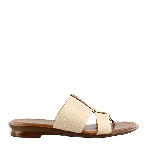 ITALIAN Shoemakers Women's, Neema Thong Sandals Natural 9 M