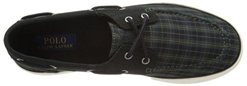 Ralph Lauren Mens Landers SK VLC Black Textile Trainers 7.5 UK buy cheap get to buy discount prices 8qhY7EYrW