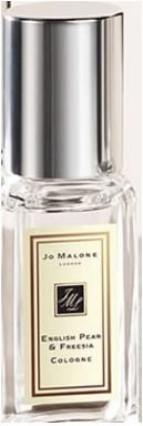 Jo Malone English Pear & Freesia .3 oz / 9ml Cologne Travel Spray.