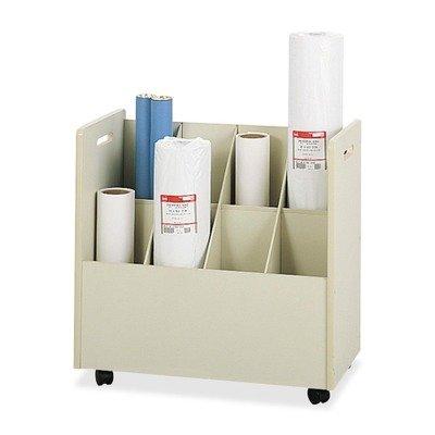 Safco Laminate - SAF3045 - Safco Laminate Mobile Roll Files