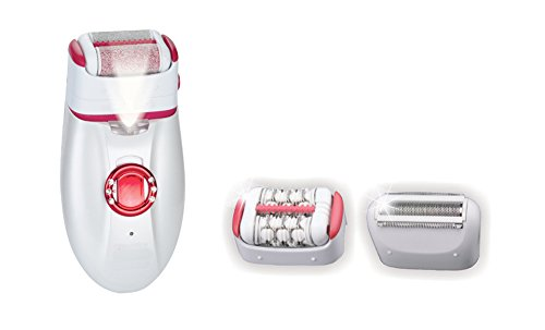 MedexLab Rechargeable Epil-X Spa Shaver, Epilator and Callus Remover