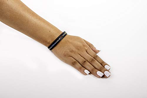 "Scripture Bracelets for Women and Men  (13-Pack) ""Power of Faith"" Wristbands by:Bel Amour Enterprise by Bel Amour Enterprise (Image #8)"