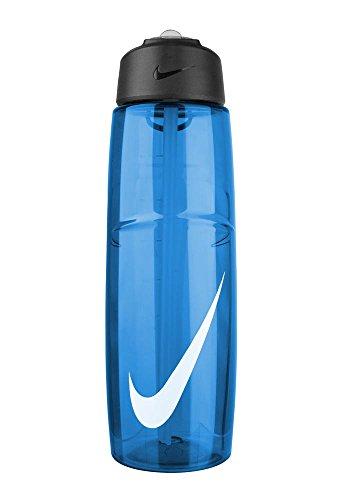 Nike T1 Flow Swoosh Water Bottle (32oz, Game Royal/White)