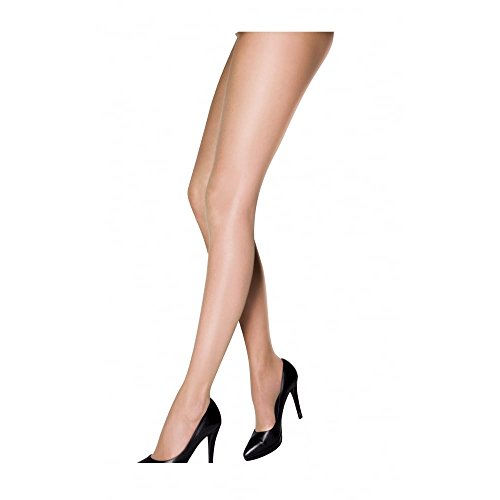 "Charnos Women's Simply Bare Ultra Sheer Pantyhose dark tan XL (5'5""-6'0"" 165-183cm, hip 42-48"" 106-122cm)"
