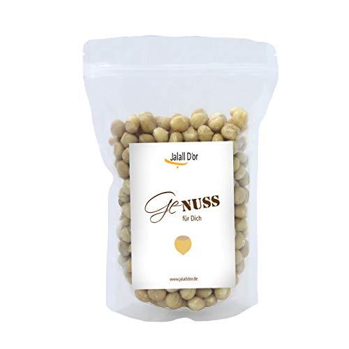 Premium MACADAMIA NÜSSE BIO ROHKOSTQUALITÄT von Jalall D'or | aus Kenia | ganze Nüsse | fair gehandelt aus kleinem Bauernprojekt| frisch abgefüllt | cremig knackiger Macadamia Geschmack | 1kg
