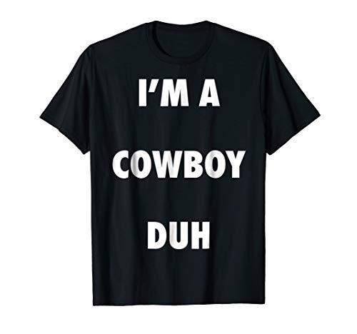 Easy Halloween Cowboy Costume Shirt for Men Women
