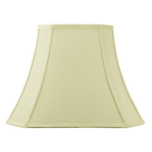 HomeConcept 091612CCES Square Cut Corner Lampshade Eggshell with Brass Spider Fitter by Home Concept, 9