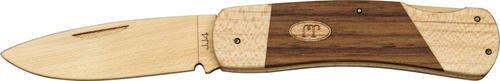 JJ's LockBack Wooden Pocket Knife Kit - Great for teaching proper knife handling and safety (Swiss Army Toy Knife)