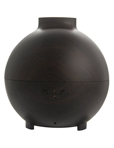 Linda Oil Lamp - Essential Oil Diffuser 600ml Large by LIANPENG,Ultrasonic Aromatheropy Diffuser With Waterless Auto Shut-off,Unique Aroma Humidifier Super Quiet,for Home Office Yoga Spa,Perfect Gift,Dark Wood Grain
