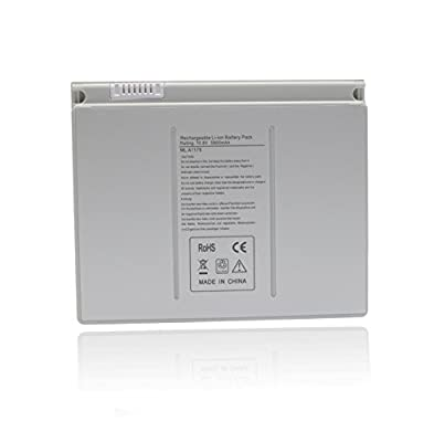 "A1175 Laptop Battery for Apple Macbook Pro 15"" A1211 A1150 A1226 A1260 Compatible MA348G/A MA466LLA MA464CH/A -12 Months Warranty [10.8V 5800mAh]--Ankon from Ankon"