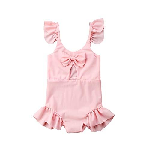 Youpin Badpak voor kinderen roze strik baby meisjes mooie badmode strandkleding uit één stuk babybadpak badmode voor…