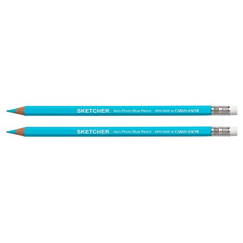 CREATIVE ART MATERIALS Sketcher Non-Photo Blue 2 Pc Blister