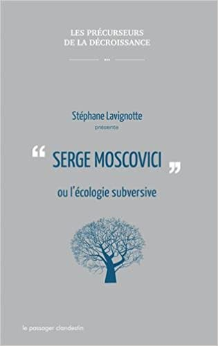 Serge Moscovici l'écologie