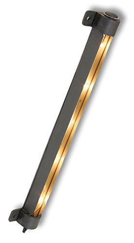 AmerTac SL10LB Westek Incandescent 10 Inch Light Strip, Black