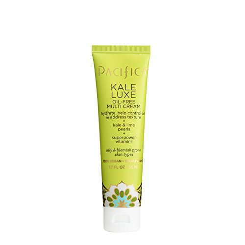 Pacifica Beauty Kale Lux Oil-Free Multi Cream, 1.7 Ounce