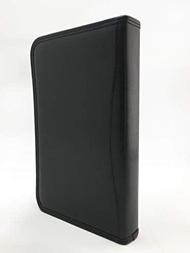 easy fit A paper In similpelle Noda Business presentazione riunione conferenza A5/cartella ad anelli For D in A5 Black