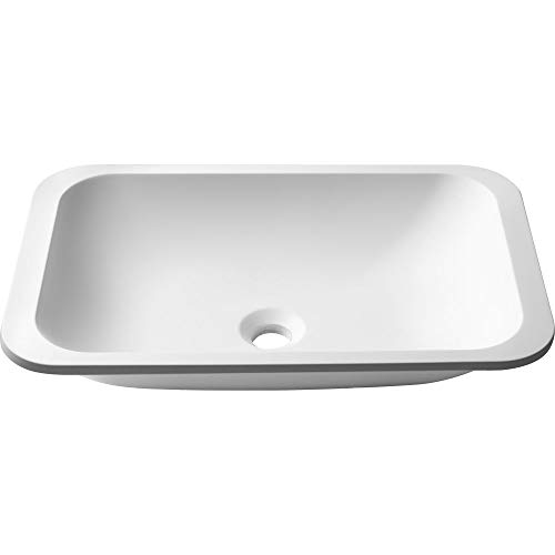KSU-8MW Natura Bathroom Sink, Matte White