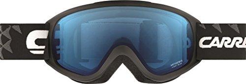 Carrera Arthemis Skibrille one size bunt - Black Mat Diamonds/Light Blue