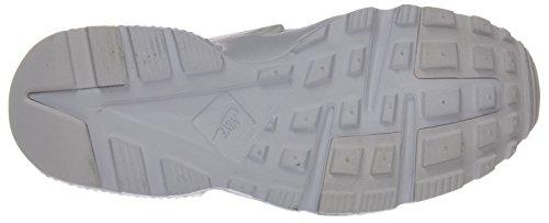 GS Blanc Sneakers NIKE Mixte Platinum Huarache White pure Basses Run White Enfant Gris g66xEw0t