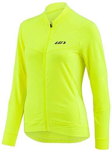 - Louis Garneau Women's Beeze Long Sleeve Cycling Jersey, Bright Yellow, X-Large